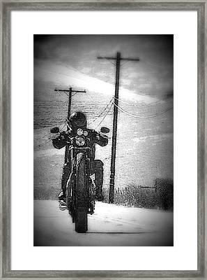 Free Wheelin' Framed Print by Michael Curry