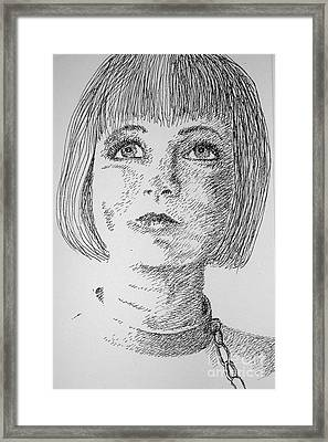 Free Will Framed Print by Tanni Koens