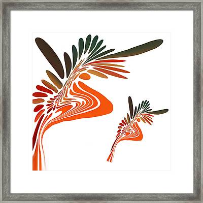 Freedom Abstract Framed Print by Art Spectrum