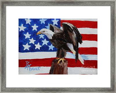 Freedom Aceo Framed Print