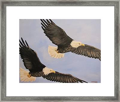 Freedom Framed Print by Aleta Parks