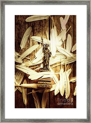Freedom And Independence Framed Print by Jorgo Photography - Wall Art Gallery