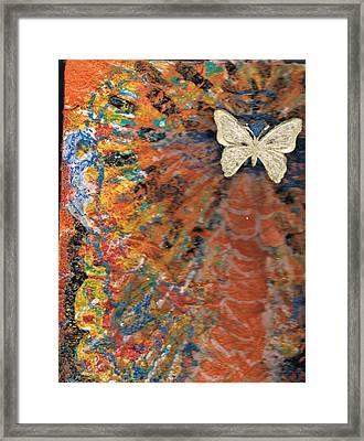 Freedom And Joy Framed Print by Anne-Elizabeth Whiteway