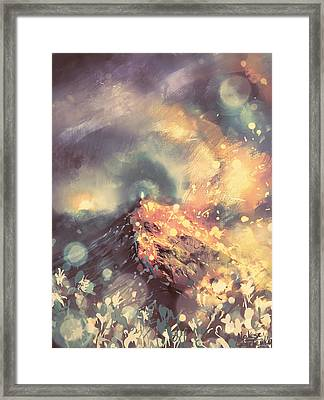Freedom And Peace  Framed Print