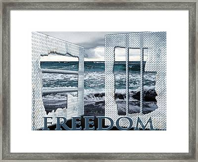 Freedom Framed Print by Cheri Doyle