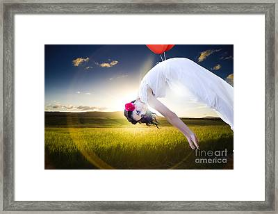 Freedom Concept Framed Print