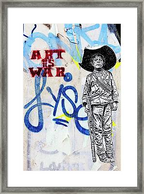 Framed Print featuring the photograph Freedom Fighter by Art Block Collections