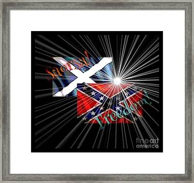 Freedom Fighters Framed Print