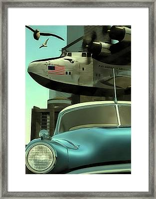 Freedom Gulls Framed Print