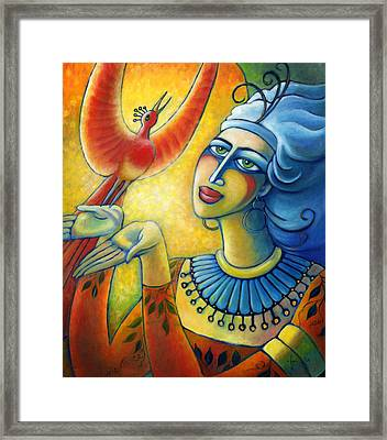 Freedom In Broad Daylight Framed Print