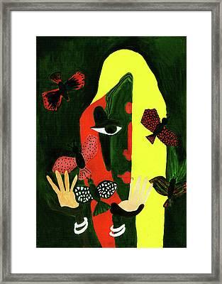 Freedom In Colors Framed Print by Farah Faizal