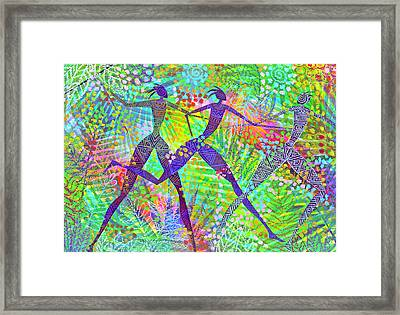 Freedom In The Rain Forest Framed Print