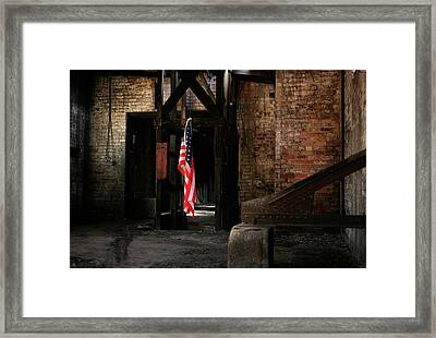 Freedom Framed Print by Kyle Findley