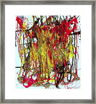 Freedom Marchers Framed Print by Teo Santa