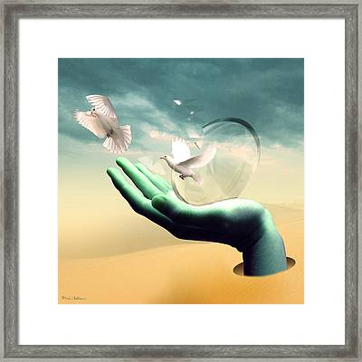Freedom  Framed Print by Mark Ashkenazi