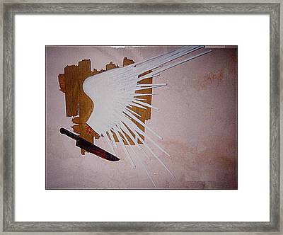 Freedom Of Expression Framed Print by Paulo Zerbato