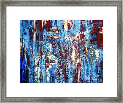 Freedom Of Expression Framed Print by Valerie Travers