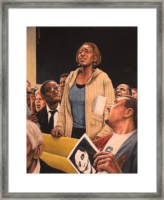 Freedom Of Speech 2010 Framed Print by Dan  Nance