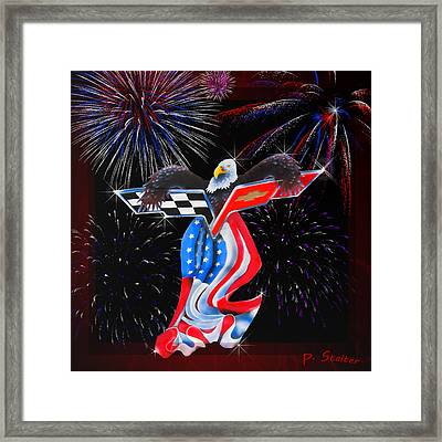 Freedom Framed Print by Patricia Stalter