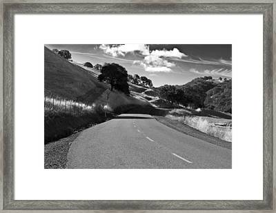 Freedom Road Framed Print