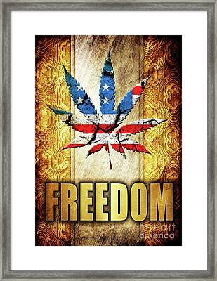 Freedom Framed Print by Sarah Kirk