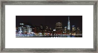 Freedom Skyline Framed Print
