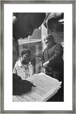 Freedom Summer, 1964 Framed Print