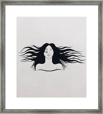 Freedome Framed Print by Shima Aeen