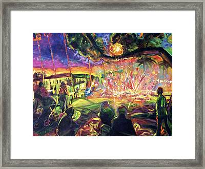 Freedom's Fire Framed Print