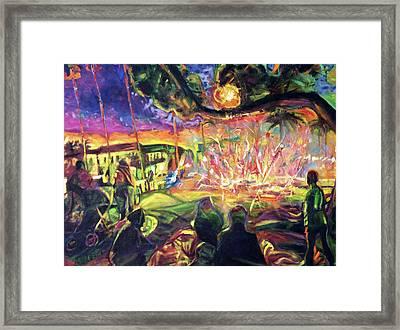 Freedom's Fire Framed Print