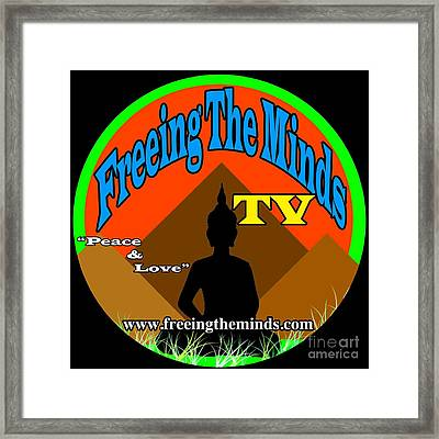 Freeing The Minds Supporter Framed Print