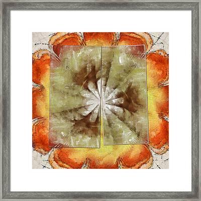 Freelances Consonance Flowers  Id 16163-144756-01321 Framed Print by S Lurk