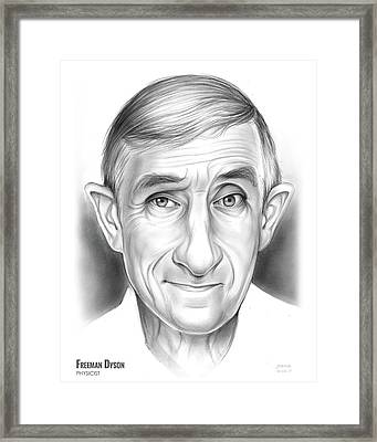 Freeman Dyson Framed Print