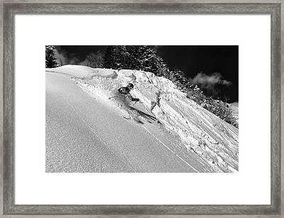Freeride Framed Print by Marcel Rebro