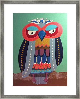 Freestyle Framed Print by Hang Ho