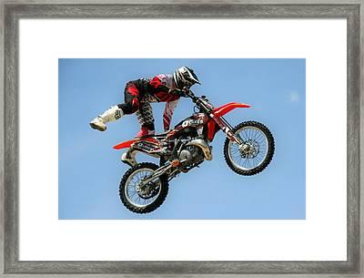 Freestyle Mx Framed Print