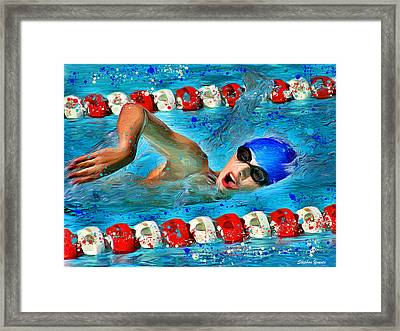 Freestyle Framed Print