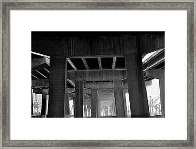 Freeway Framed Print by Larry Butterworth