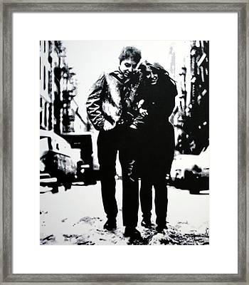 Freewheelin Framed Print