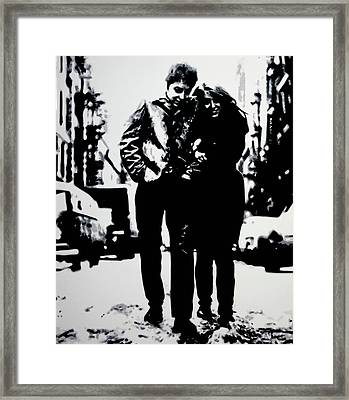 Freewheelin Framed Print by Luis Ludzska