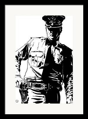 Law Enforcement Framed Prints