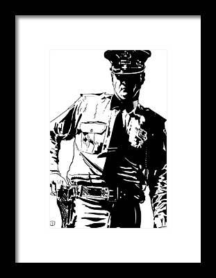 Policeman Framed Prints