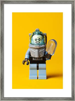 Freeze Pop Framed Print by Samuel Whitton