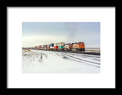 Locomotive Framed Prints