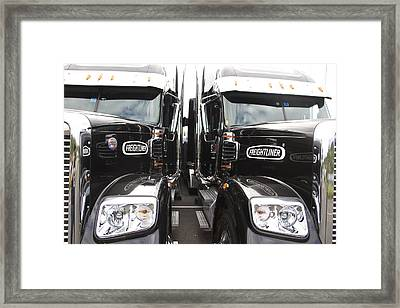 Freightliner Framed Print by Alice Gipson