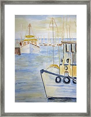 Fremantle Western Australia Framed Print