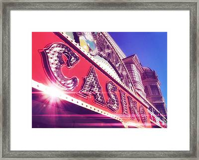 Fremont By Day Framed Print by JAMART Photography
