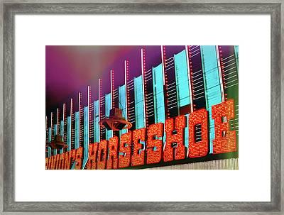Fremont Street Framed Print by JAMART Photography