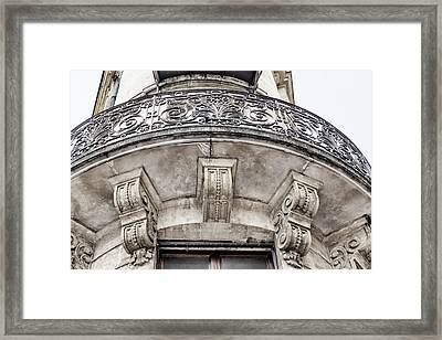 French Balcony Framed Print