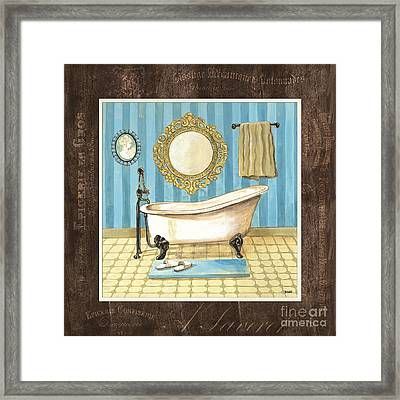 French Bath 1 Framed Print
